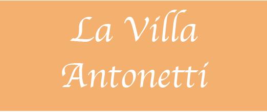 Logotype LA VILLA ANTONETTI